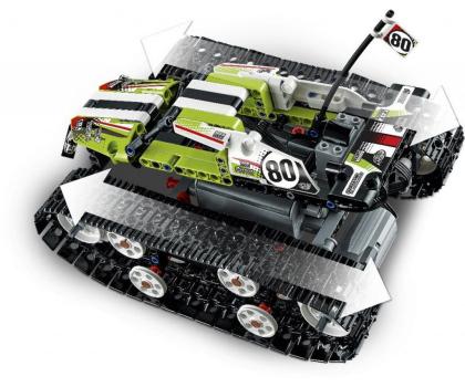 LEGO Technic Zdalnie sterowana wyścigówka gąsienicowa-343885 - Zdjęcie 4