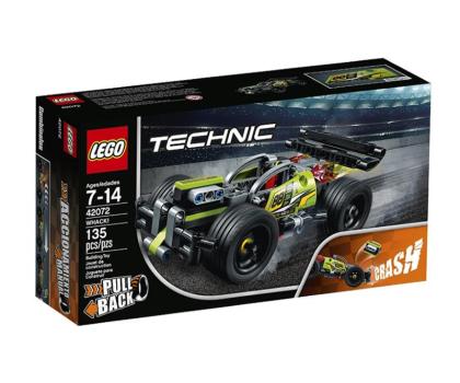 LEGO Technic Żółta wyścigówka-395190 - Zdjęcie 1