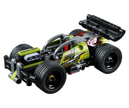 LEGO Technic Żółta wyścigówka-395190 - Zdjęcie 2