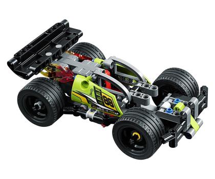LEGO Technic Żółta wyścigówka-395190 - Zdjęcie 3