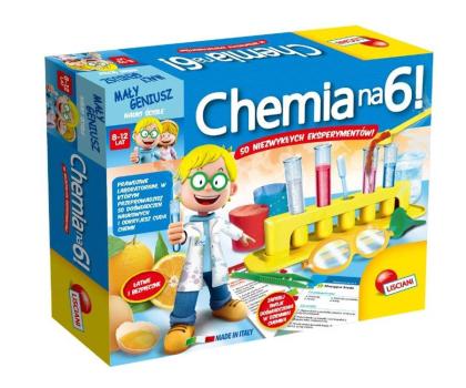 Lisciani Giochi Mały Geniusz Chemia na 6!-419591 - Zdjęcie 1