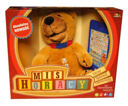 Madej Interaktywny Miś Horacy z tabletem-216190 - Zdjęcie 2