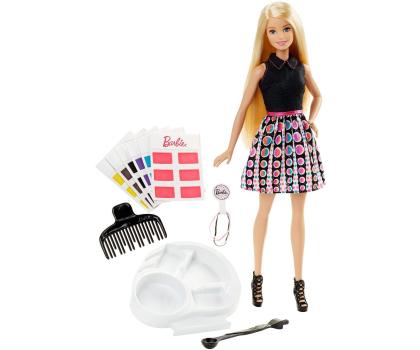 Mattel Barbie Miks Kolorów Farbujemy Włosy (DHL90)