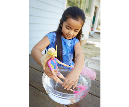 Mattel Barbie Nurkowanie z delfinem zestaw-375682 - Zdjęcie 4