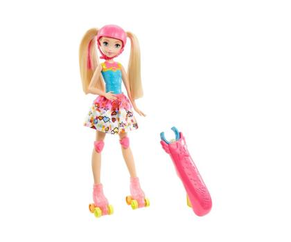 Mattel Barbie w świecie gier Barbie na wrotkach-344486 - Zdjęcie 1