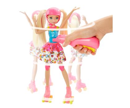 Mattel Barbie w świecie gier Barbie na wrotkach-344486 - Zdjęcie 2