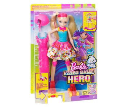 Mattel Barbie w świecie gier Barbie na wrotkach-344486 - Zdjęcie 5
