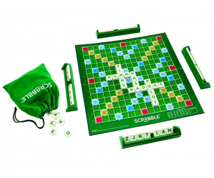 Mattel Scrabble Original-158697 - Zdjęcie 4