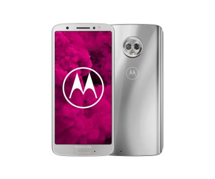 Motorola Moto G6 3/32GB Dual SIM srebrny + etui-410737 - Zdjęcie 1