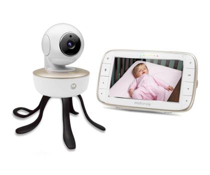 """Motorola Niania Elektroniczna obrotowa kamera WiFi ekran 5""""-438978 - Zdjęcie 1"""