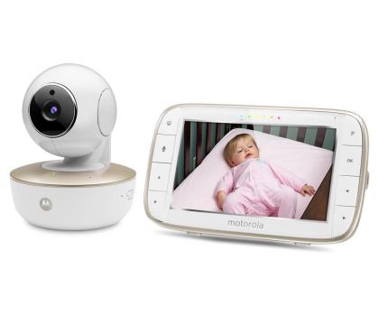 Motorola Niania Elektroniczna obrotowa kamera WiFi MBP855-438978 - Zdjęcie 2