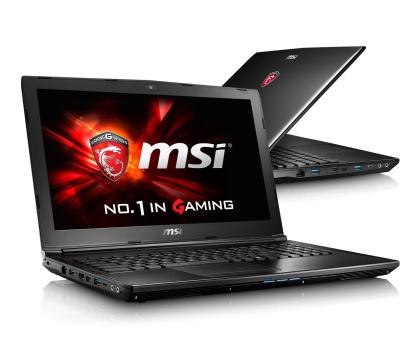 MSI GL62 i5-6300HQ/4GB/1TB 940MX 2GB FHD-317476 - Zdjęcie 1