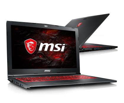 MSI GV62 i5-7300HQ/8GB/1TB GTX1050-384994 - Zdjęcie 1