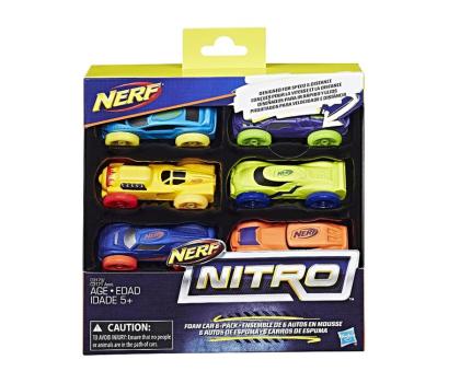 NERF Nitro Refill uzupełnienie 6-pak-373147 - Zdjęcie 1