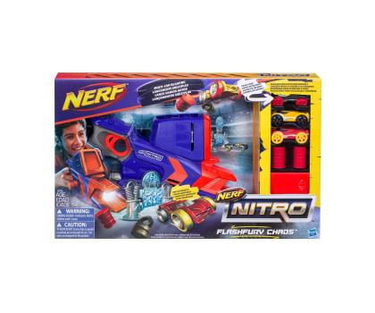 NERF Nitro Wyrzutnia Flashfury Chaos-371948 - Zdjęcie 2