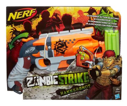 NERF Zombie Strike Hammershot-357136 - Zdjęcie 2