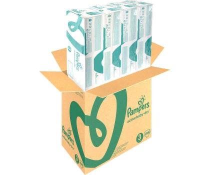 Pampers Active Baby Dry 3 Midi 5-9kg 208szt Na Miesiąc-339026 - Zdjęcie 3