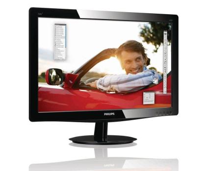 Philips 226V3LSB25/00 (DVI) czarny-105977 - Zdjęcie 3