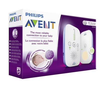 Philips Avent Elektroniczna Niania DECT Z Lampką-320403 - Zdjęcie 3
