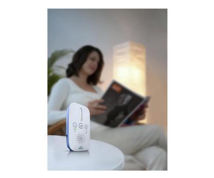 Philips Avent Elektroniczna Niania DECT Z Lampką-320403 - Zdjęcie 2