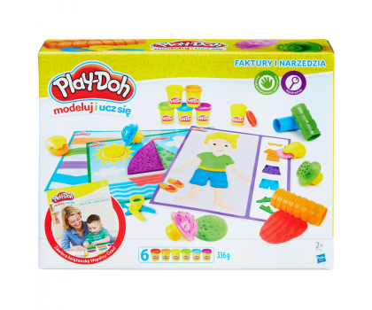 Play-Doh Faktury i Narzędzia-357438 - Zdjęcie 1