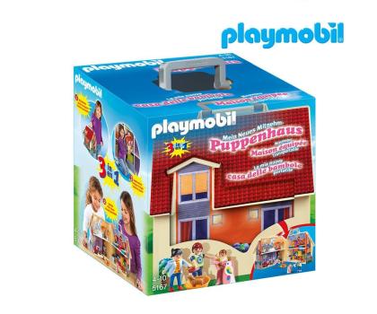 PLAYMOBIL Nowy przenośny domek dla lalek-299410 - Zdjęcie 1