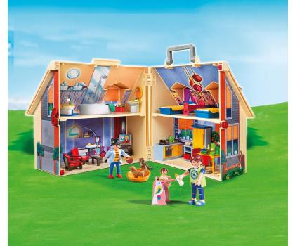 PLAYMOBIL Nowy przenośny domek dla lalek-299410 - Zdjęcie 2