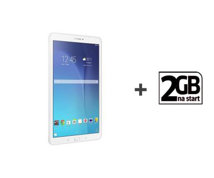 Samsung Galaxy Tab E 9.6 T561 8GB biały 3G + STARTER_2GB (SM-T561NZWAXEO)