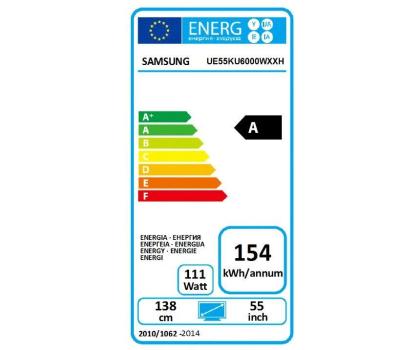 Samsung UE55KU6000 Smart 4K 1300Hz WiFi 3xHDMI USB DVB-T/C-308160 - Zdjęcie 6