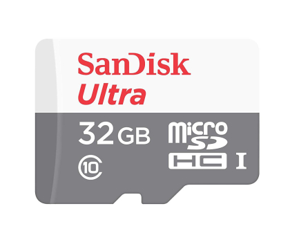 SanDisk 32GB microSDHC Ultra 80MB/s A1 C10 UHS-I  (SDSQUNS-032G-GN3MN)