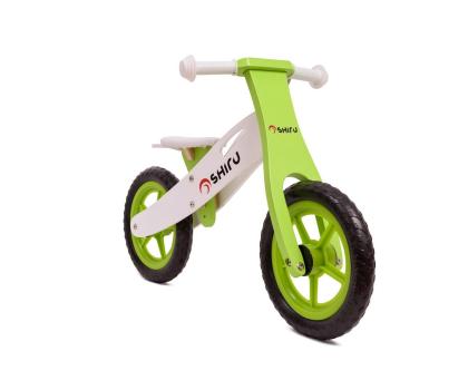 SHIRU Rowerek biegowy zielony-305491 - Zdjęcie 3
