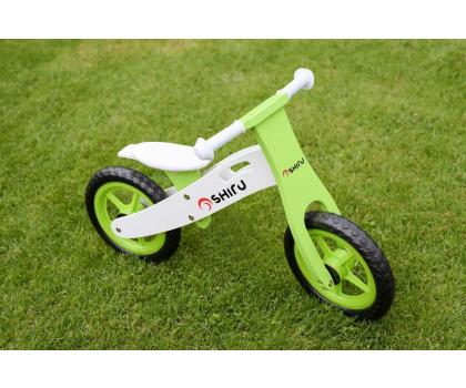 SHIRU Rowerek biegowy zielony-305491 - Zdjęcie 6