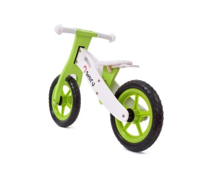 SHIRU Rowerek biegowy zielony-305491 - Zdjęcie 4