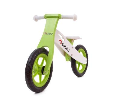SHIRU Rowerek biegowy zielony-305491 - Zdjęcie 5