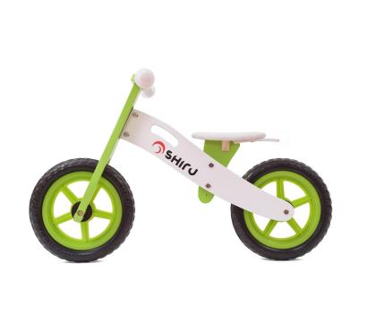 SHIRU Rowerek biegowy zielony-305491 - Zdjęcie 1