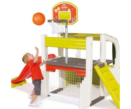 Smoby Centrum zabawy ze zjeżdżalnią i koszykówką-349272 - Zdjęcie 3