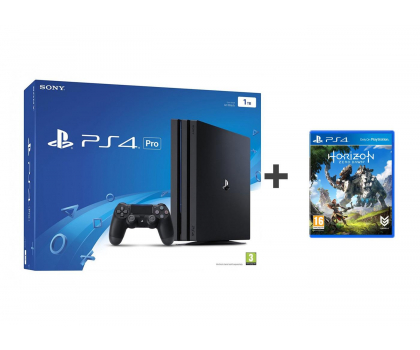Sony Playstation 4 PRO 1TB + Horizon Zero Dawn-360709 - Zdjęcie 1