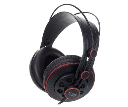 Superlux HD681 Black-Red (HD681 Black-Red)