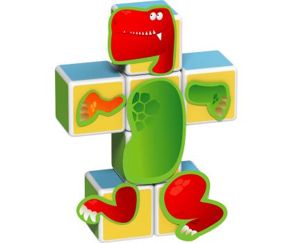 TM Toys MAGICUBE Zestaw Dinozaury-382201 - Zdjęcie 2
