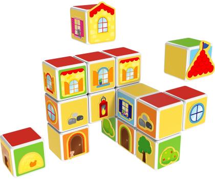TM Toys MAGICUBE Zestaw zamki i domki-382204 - Zdjęcie 3