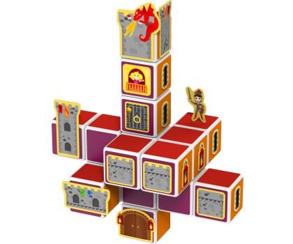 TM Toys MAGICUBE Zestaw zamki i domki-382204 - Zdjęcie 2