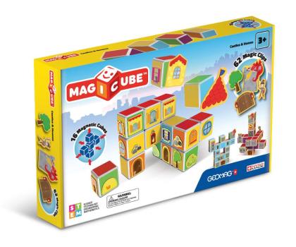 TM Toys MAGICUBE Zestaw zamki i domki-382204 - Zdjęcie 1