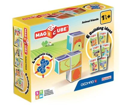 TM Toys MAGICUBE Zestaw Zwierzęta Domowe-382192 - Zdjęcie 1
