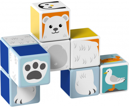 TM Toys MAGICUBE  Zestaw Zwierzęta Polarne-382198 - Zdjęcie 3