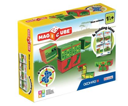 TM Toys MAGICUBE Zestaw Zwierzęta Rzeczne-382196 - Zdjęcie 1