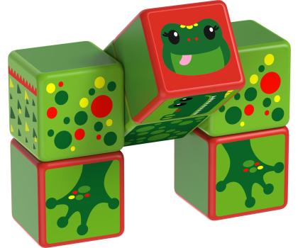 TM Toys MAGICUBE Zestaw Zwierzęta Rzeczne-382196 - Zdjęcie 3