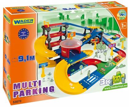 Wader Kid Cars 3d - Multi parking z trasą 9,1 m-175555 - Zdjęcie 4