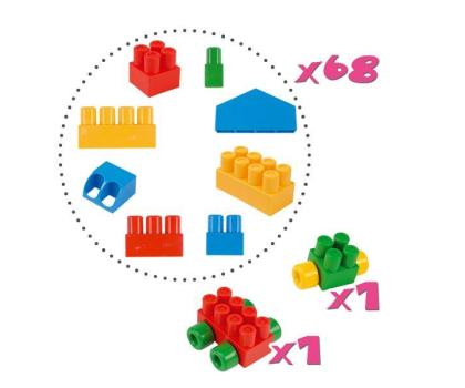"""Wader Klocki Middle Blocks - Zestaw """"Big""""-175589 - Zdjęcie 3"""