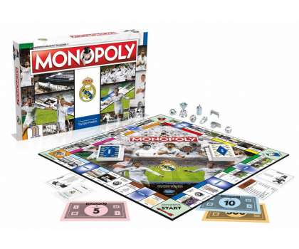 Winning Moves Monopoly Real Madryt -401903 - Zdjęcie 2