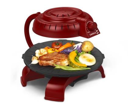Zaigle Simple Everyday Grill czerwony-433271 - Zdjęcie 2